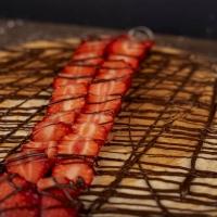 Палачинка с шоколад и ягоди