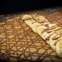 Палачинка с шоколад и банан