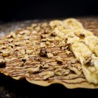 Палачинка с шоколад, банан и лешник