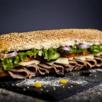 Сандвич телешко филе и кашкавал