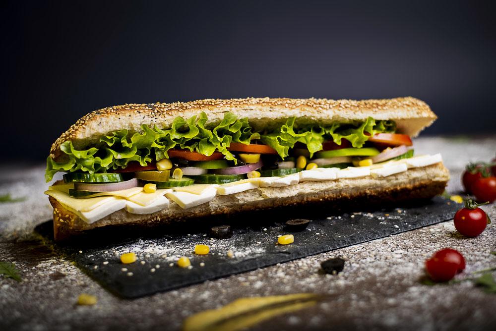 Сандвич свежо сирене и кашкавал